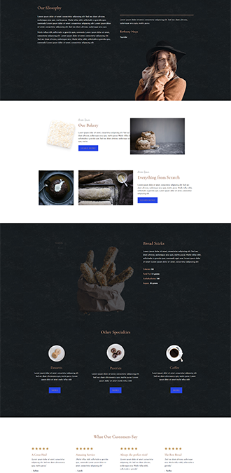 Bäckerei Design
